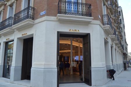 Zara tienda entrada Serrano Madrid