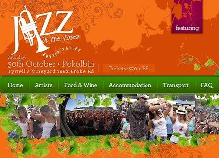Jazz in the Vines: jazz entre viñedos australianos