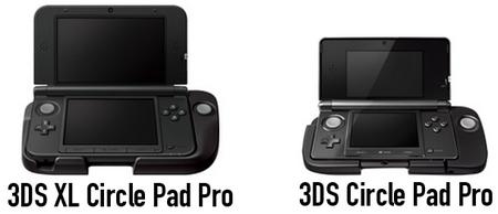 Nintendo muestra por primera vez su 3DS XL Circle Pad Pro
