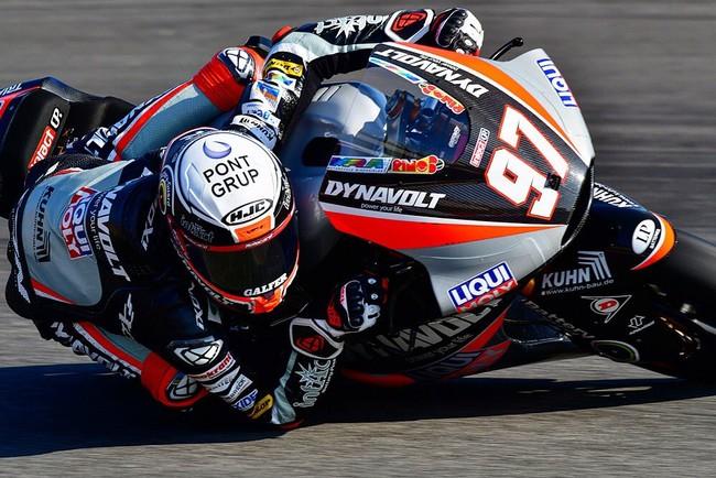 Xavi Vierge lidera una igualada FP2 de Moto2 en Sachsenring con 28 pilotos en un segundo
