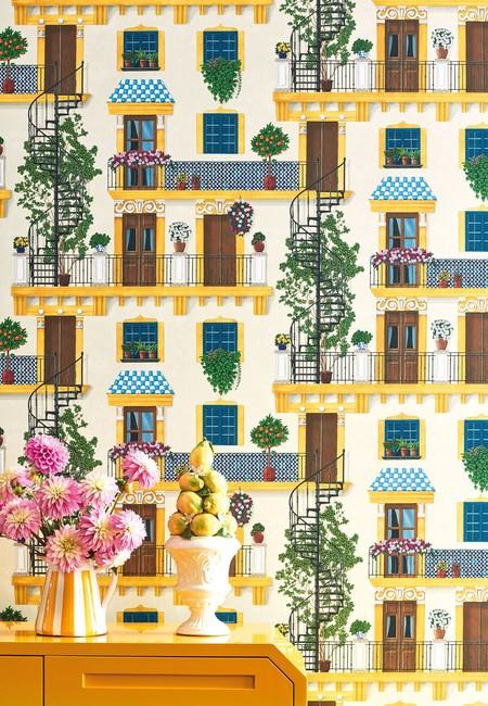 Colorida y vibrante: Seville es la nueva (y encantadora) colección de Cole & Son