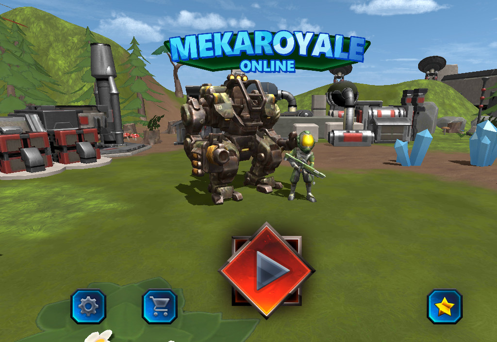 MekaRoyale, a Battle Royale with a lot of robots in that if you lose, you lose everything