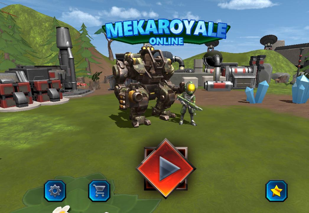 MekaRoyale, un Battle Royale con muchos robots en el que si pierdes, lo pierdes todo