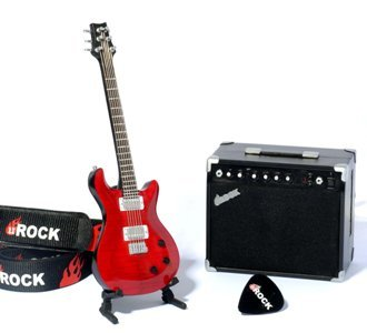 uRock, reproductor de MP3 en una guitarra