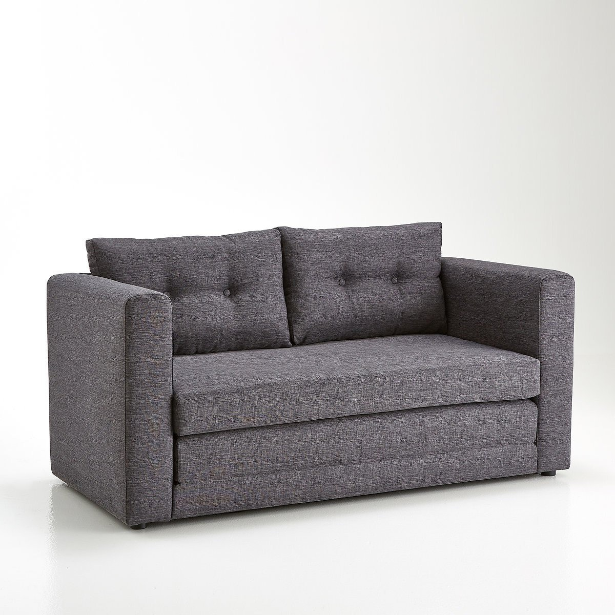 Sofá cama de estilo neoindustrial
