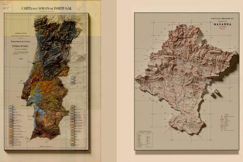 Así crea estos alucinantes mapas un malagueño que acumula miles de votos positivos y comentarios en Reddit