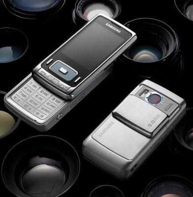 Samsung SGH-G800, con cámara de 5 megapíxeles