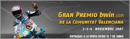 A la venta las entradas para el GP de la Comunidad Valenciana