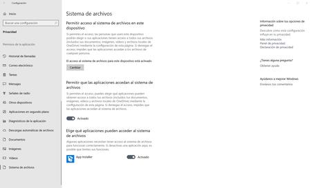 Windows 10 Sistema De Archivos