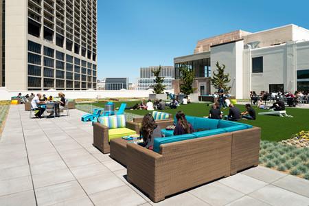 Espacios para trabajar: las nuevas oficinas de Twitter en San Francisco
