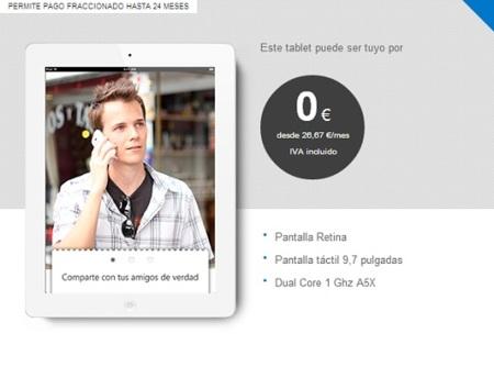 Tuenti nutre su catálogo de tablets con el Nuevo iPad y el iPad 2