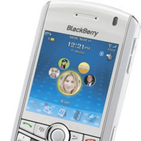 Blackberry Pearl en blanco con T-Mobile