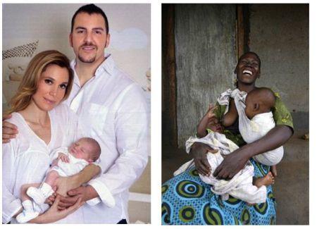 ¿Qué es un bebé afortunado?