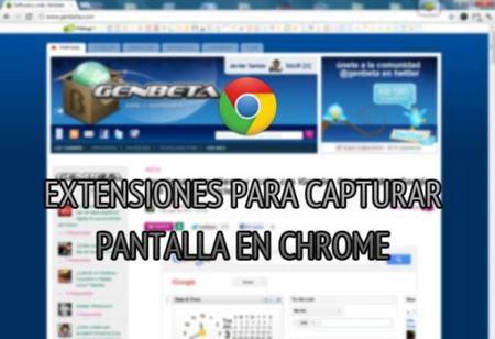 Cinco alternativas para realizar capturas de pantalla en Chrome