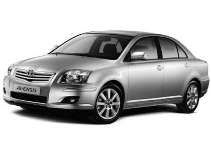 Pequeños cambios para el Toyota Avensis