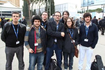 Foto equipo 2 MWC 2012