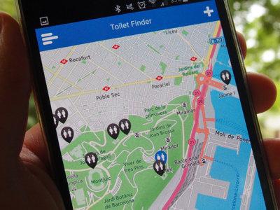 Seis aplicaciones para buscar servicios públicos (aseos) en las proximidades