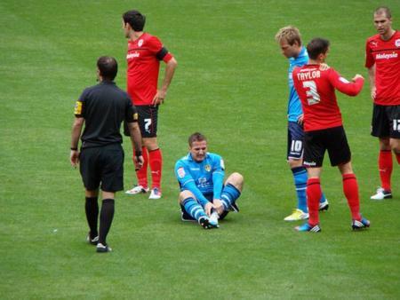 La pesadilla de los deportistas: una fractura de tobillo