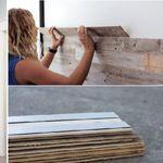 Soluciones DIY: la reforma express de una pared, con lamas de madera