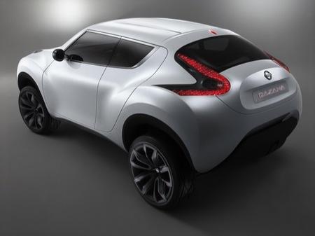 Nissan Qazana Concept, un pequeño crossover de cuatro metros