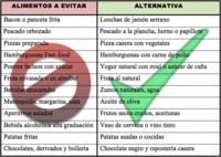 Pequeños cambios que harán que tu dieta sea más saludable