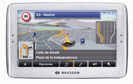 Navigon 8110, un GPS a tener en cuenta