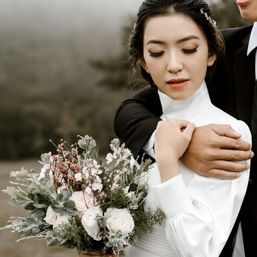 Pinterest nos muestra 15 ramos de novia de invierno espectaculares que te harán plantearte casarte durante esta estación