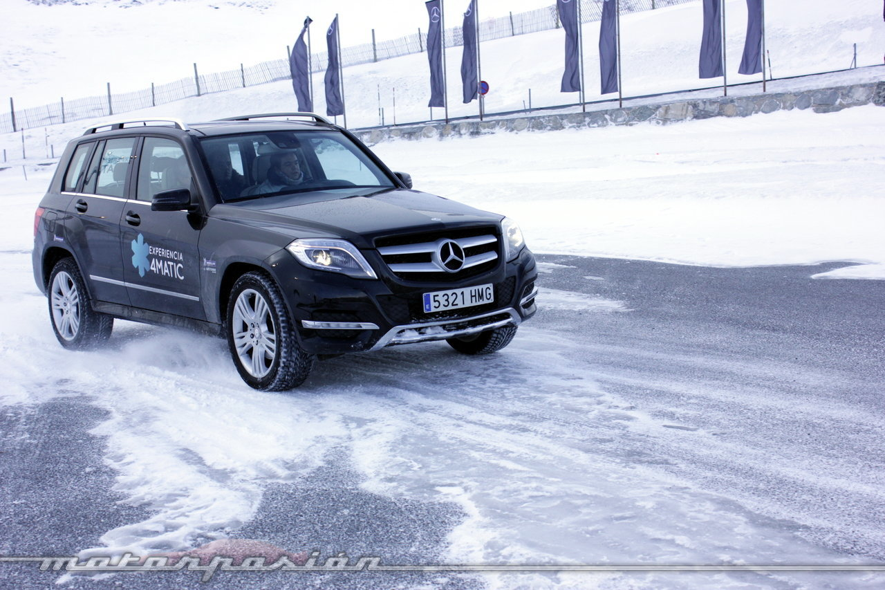 Foto de Michelin Pilot Alpin y Michelin Latitude Alpin, Experiencia 4Matic (17/27)