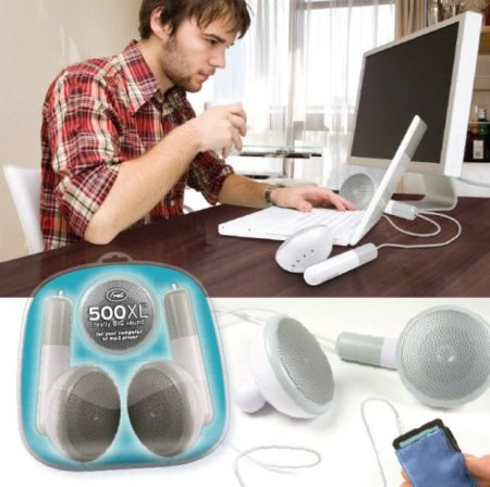 Fred 500XL, los auriculares del iPod aumentados
