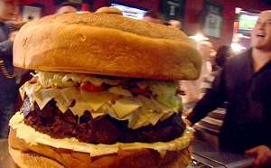 La hamburguesa más grande del mundo, otra vez