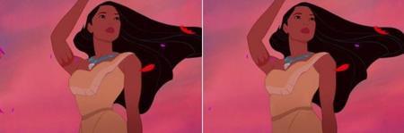 Pocahontas con cintura real