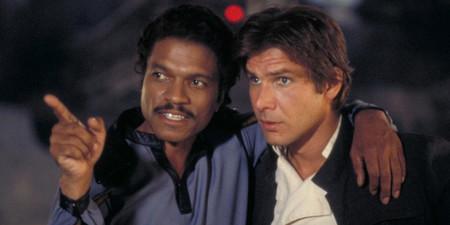 Lando Calrissian y Han Solo en El Imperio Contraataca