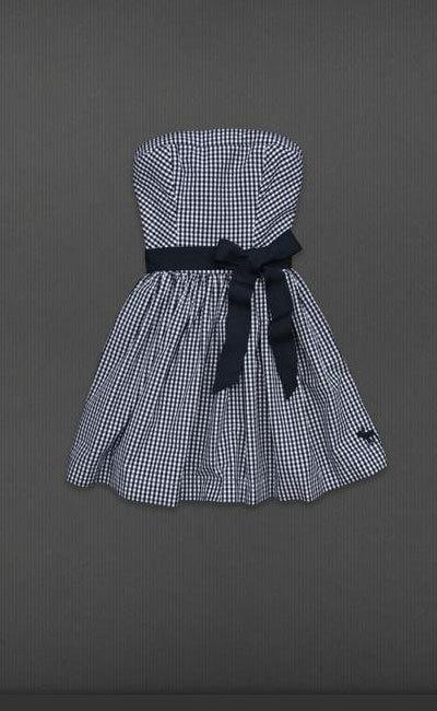 Vestido de mini-cuadros