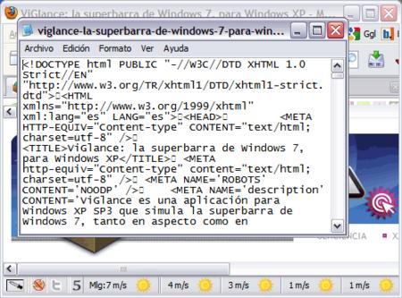 Truco: usa tu editor externo favorito para ver código fuente en Firefox