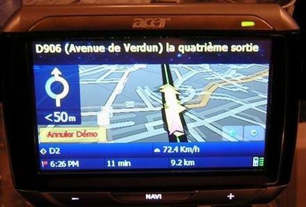 P610 y P630, dos nuevos GPS de Acer