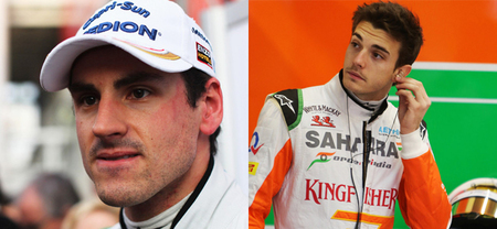 Adrian Sutil y Jules Bianchi, ¿ha acertado Force India?
