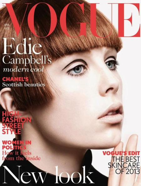 Vogue UK Edie Campbell