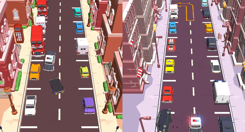 Drive and Park, an addictive game that demonstrates that parking can be fun