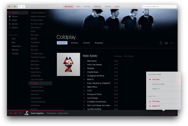 Apple Music Mac 6