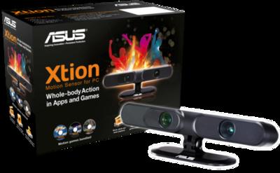 ASUS Xtion: juega en el ordenador con tu cuerpo