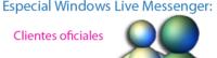Windows Live Messenger: Clientes oficiales