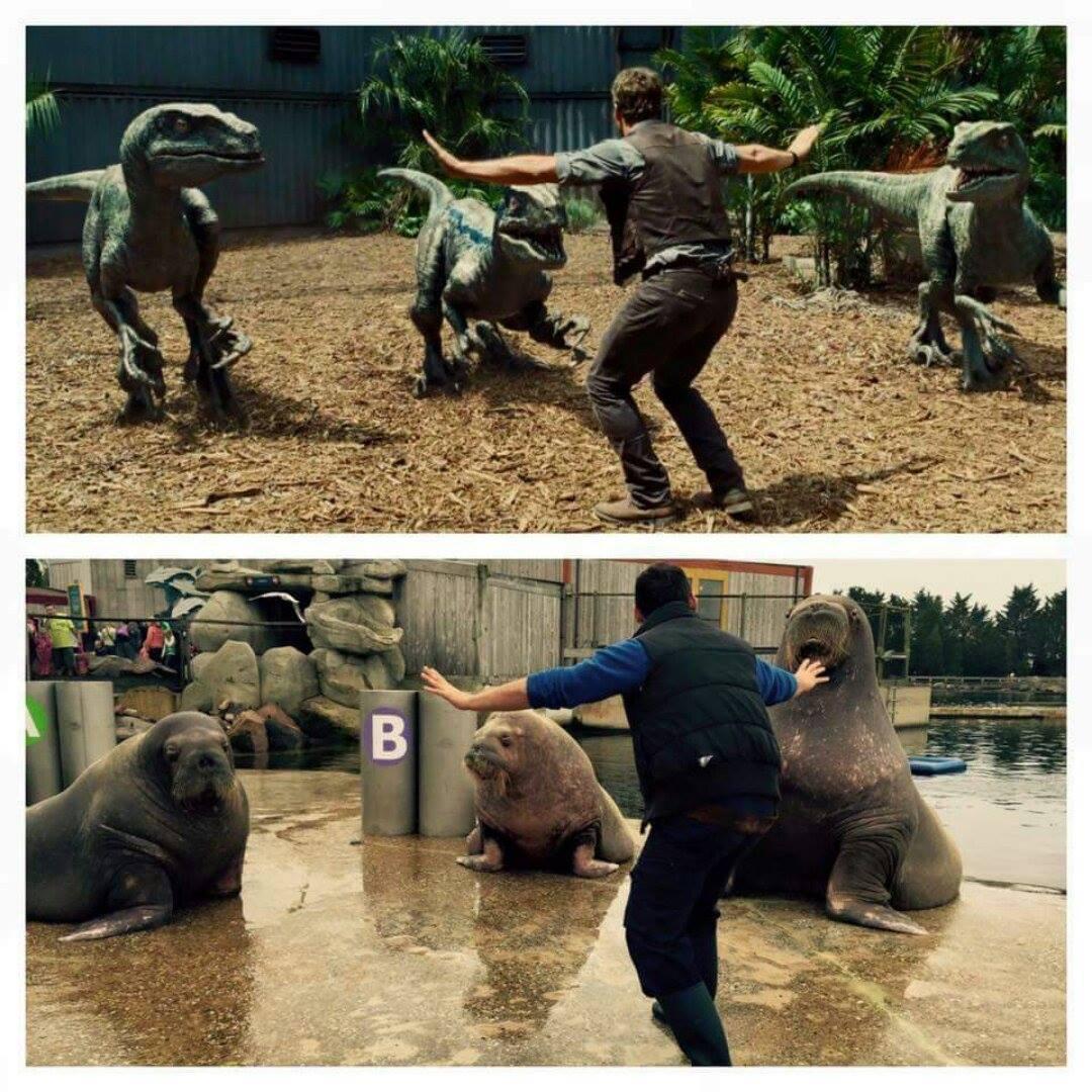 Foto de 'Jurassic World': los imitadores de Chris Pratt (1/12)