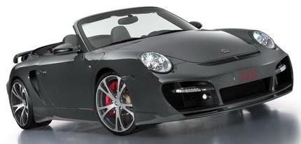 TechArt GTstreet Cabriolet, basado en el Porsche 911 Turbo Cabriolet