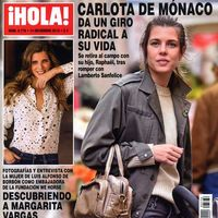 Carlota de Mónaco en el campo