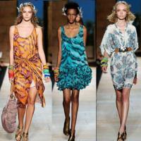 Diane Von Furstenberg Primavera-verano 2010 en la Semana de la Moda de Nueva York
