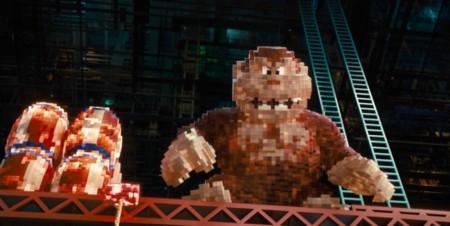 Donkey Kong en Pixels
