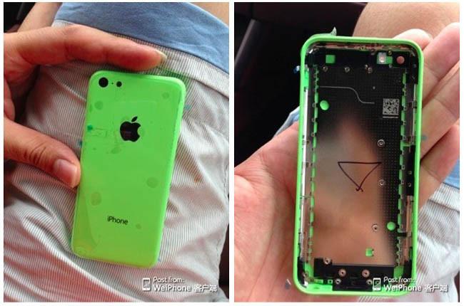 iPhone con carcasa de plástico
