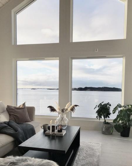 Sensaciones naturales y estilo nórdico se complementan en la maravillosa casa Noruega de Astrid Marie Vie