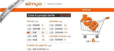 Simyo llega a los 500.000 clientes gracias a su apuesta por la flexibilidad de sus tarifas
