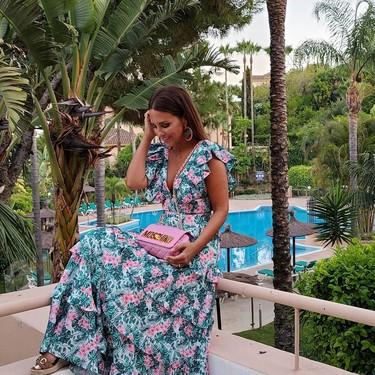 Paula Echevarría nos confirma en su último estilismo que los looks de dos piezas arrasan este verano